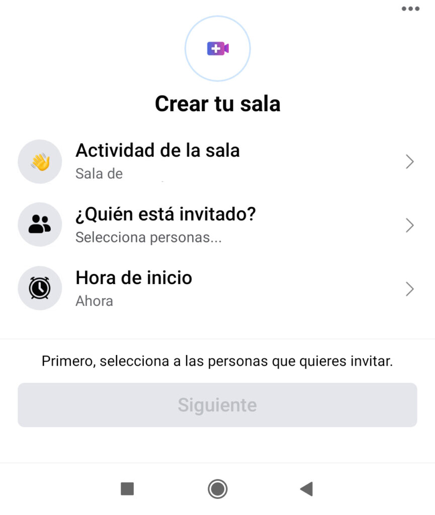 Crear tu sala en messenger - mm-marketing