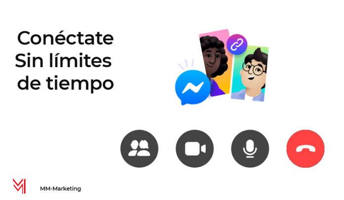Salas de Messenger Rooms en Facebook - mm-marketing