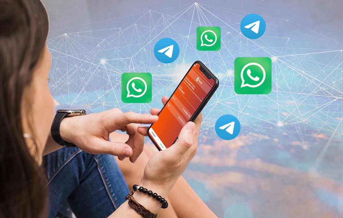 comprar criptomonedas desde WhatsApp - mm marketing