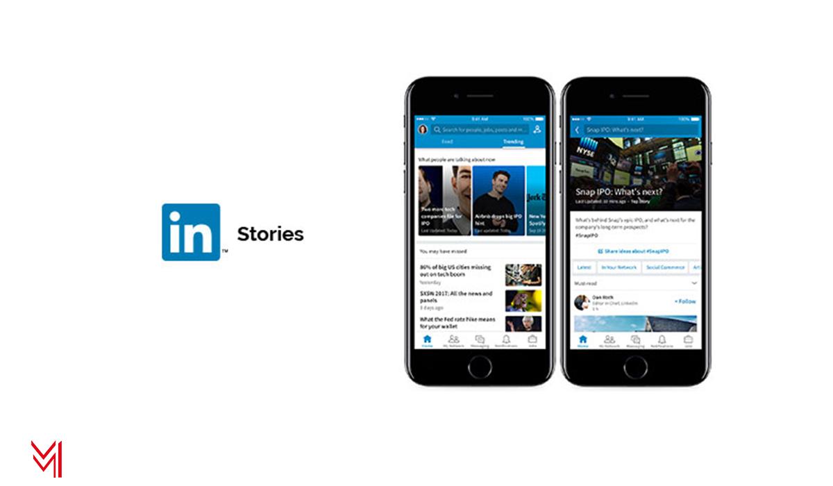 Stories de Linkedin - mm-marketing